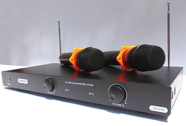 Taskstar TS-6720 micro không dây có tần số ổn định